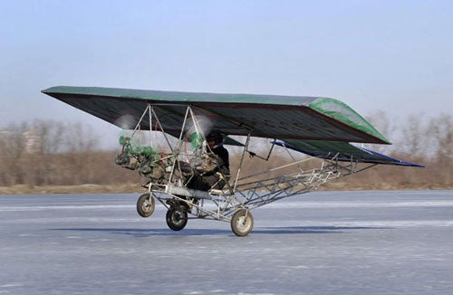 Chinese auto mechanic builds plane for $395