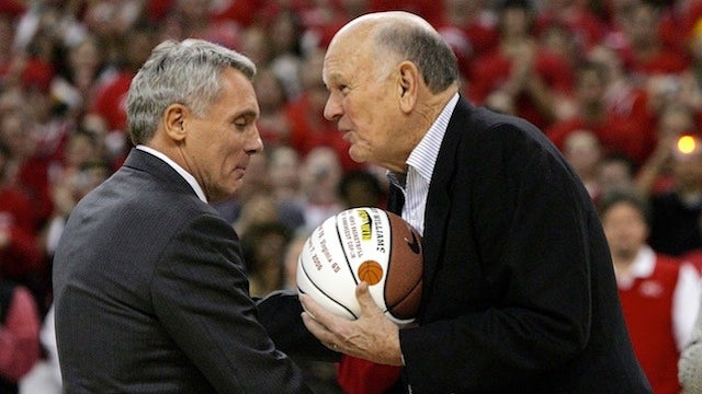Lefty Driesell Is Mad Because Maryland Named Its Court After Gary Williams