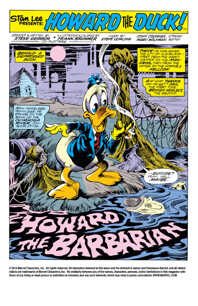 One of Marvel's Weirdest Characters Returns in New Howard the Duck Comic