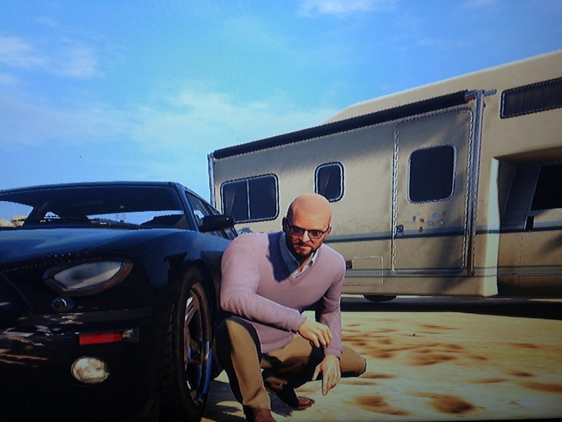 You Can Play GTA V As Breaking Bad's Heisenberg, Basically