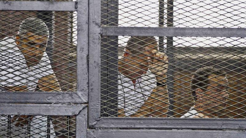 Egyptian Court Sentences Al Jazeera Journalists to Seven Years in Jail