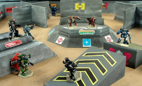Gladiator mechs battle for fame and cash in Heavy Gear Arena