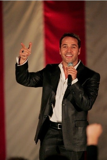 Jeremy Piven Says Barack Obama Has His Back