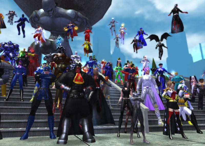 City Of Heroes Explodes With Player Created Content