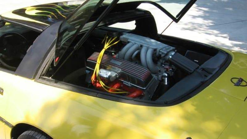 This Fantastic Corvette Has The Rare 'Mock Mid-Engine' Setup