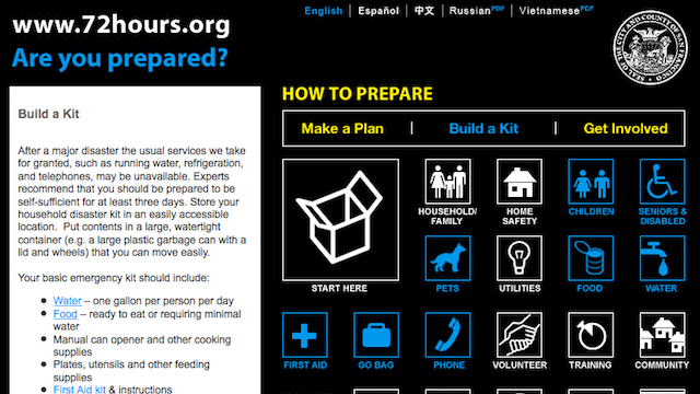 Make Sure You're Prepared for Disaster with a 72-Hour Kit