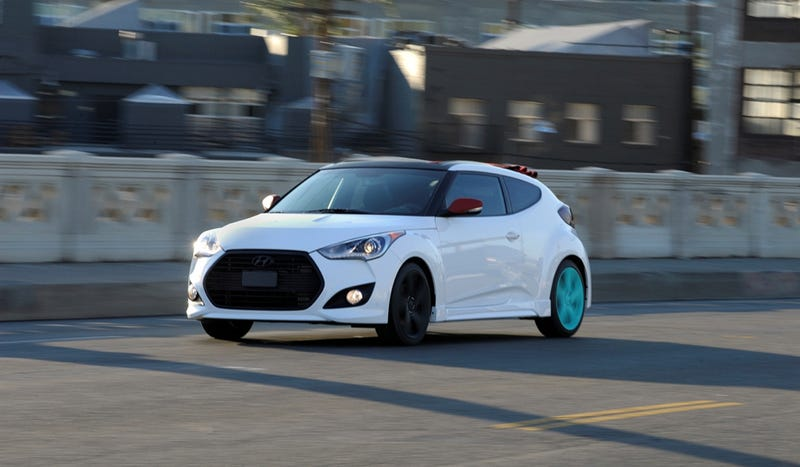 The Hyundai Veloster C3 Roll Concept Is A Veloster With Less Roof And More Bicycle