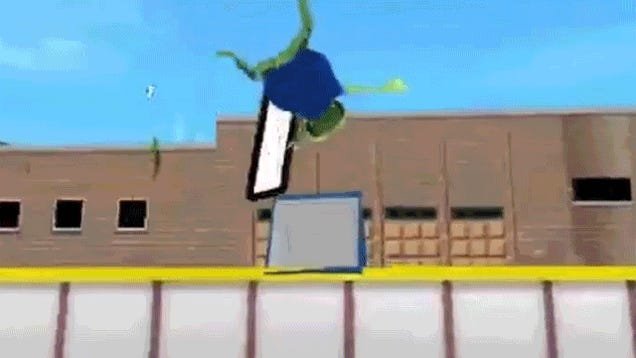 I'm Glad This Glitchy Ouya Game Exists So That We Can Have These GIFs