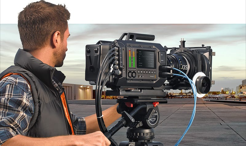Blackmagic URSA: A Modular Cinema Camera with Insane Swappable Sensor