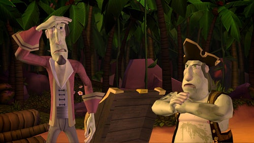 Monkey Island: Episode Two Screens Wash Ashore