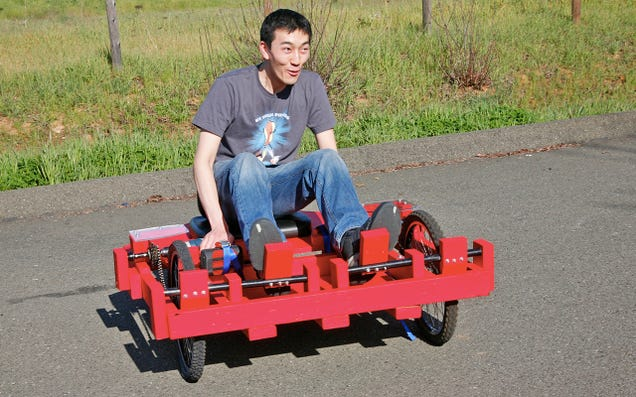 How To Build A Cheap Ish Drill Powered Go Kart