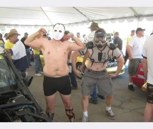 Pistol-Packin' Ice Cream Men and Big Sausages: BS Inspection At The Buttonwillow Histrionics!