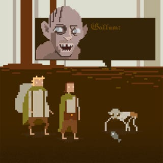 8-Bit GIFs of iconic scifi and fantasy films are infinite loops of awesome