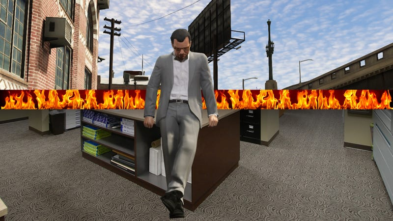 Grand Theft Blotto: What GTAV Means To A Laid-Off Depressive Like Me