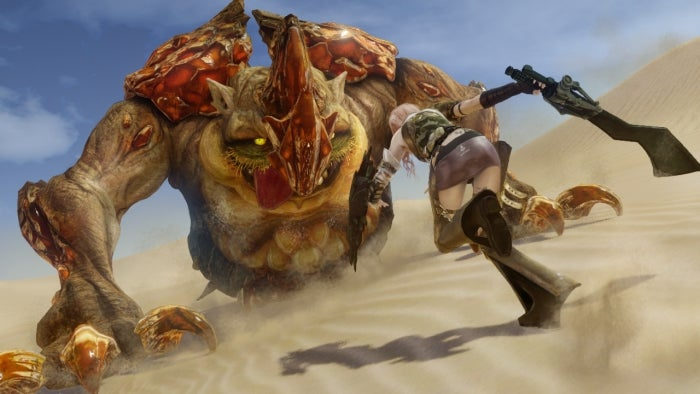 I Have Staggered Monsters In Lightning Returns: Final Fantasy XIII