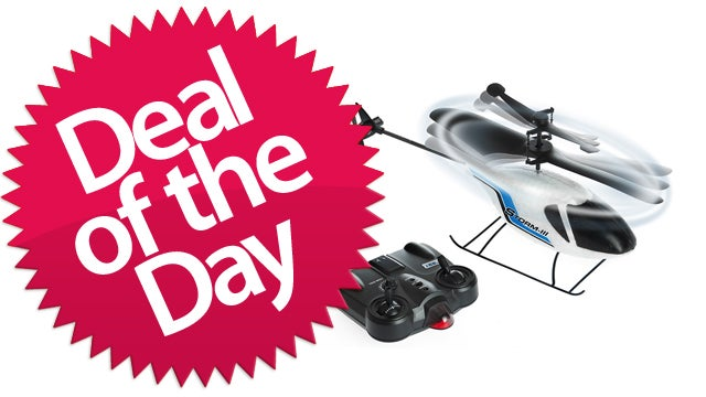 Hobby Engine Storm-III Remote Control Helicopter Is Your Dream-Fulfilling Deal of the Day