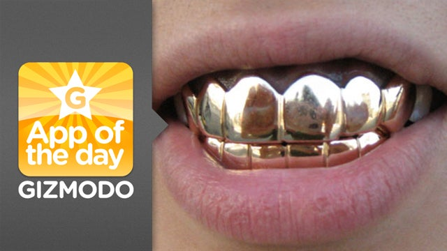 Grillz for iPhone: Make Your Teeth Bling Like Rappers