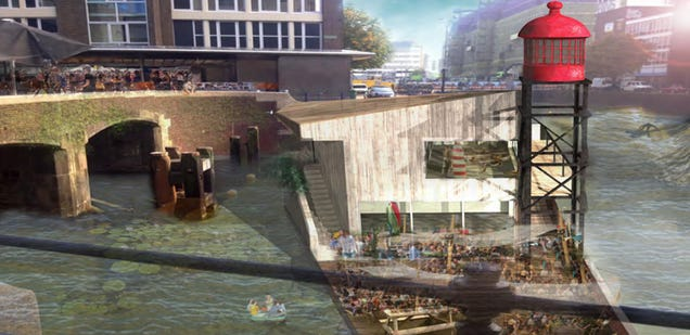 This Canal in the Neatherlands Will Soon Be a Water-Purifying Wave Pool