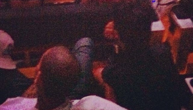 Chris Brown and Rihanna Are Definitely Probably Back Together According to This Blurry Photo of the Back of Their Heads [UPDATE]