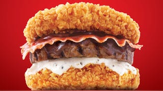 This new Double Down burger is even more ridiculous than the original