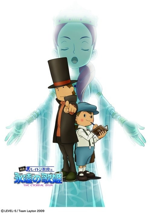 Professor Layton Movie Getting Western Release