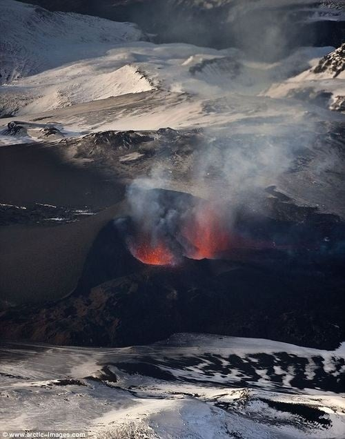 Ongoing Eruption In Iceland Opens Up Massive New Lava Vent