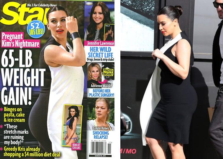 Just Shut the Fuck Up About Kim Kardashian's Weight
