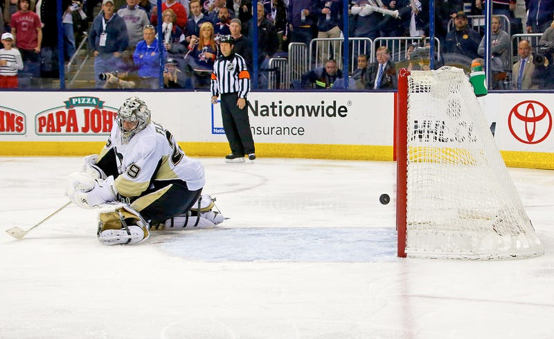 Marc-Andre Fleury Reverts To Type