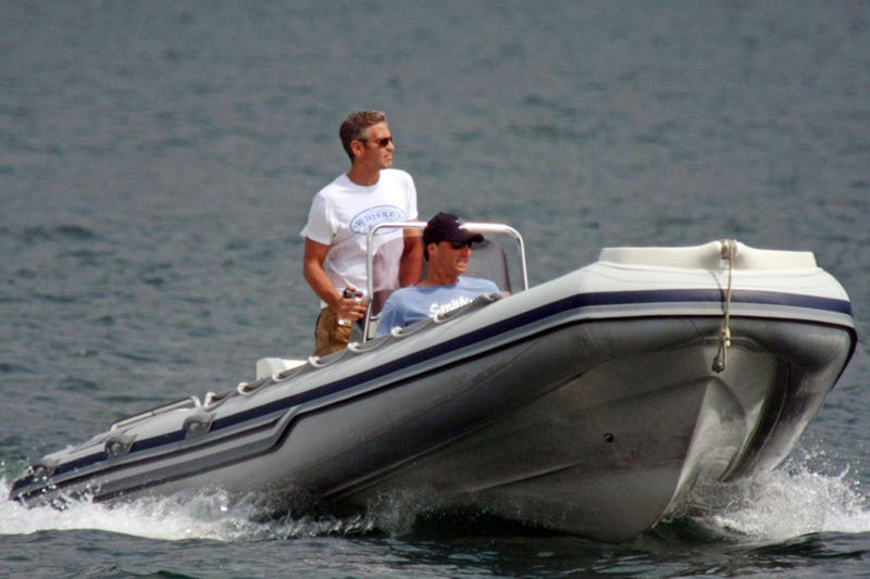 Ahoy, Mateys: Tis George Clooney, That Salty Dog!