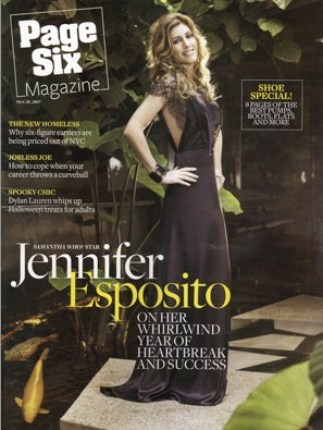 Dear Page Six Mag, If At First You Don't Succeed... Don't Invite Back Jennifer Esposito?