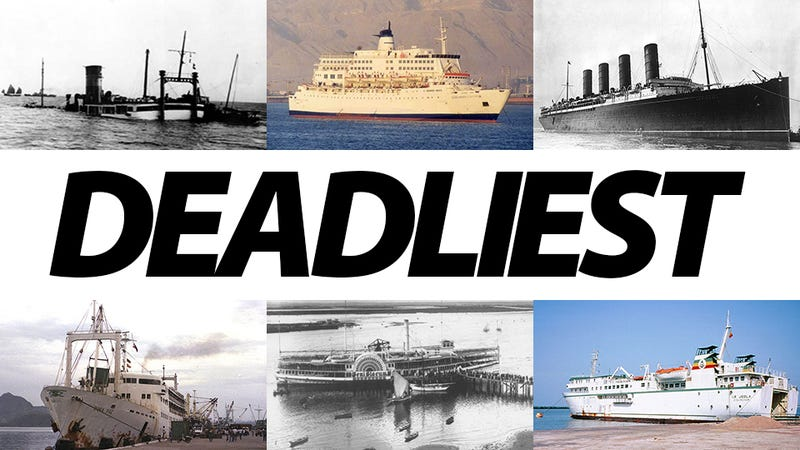 The 13 Deadliest Shipwrecks Ever