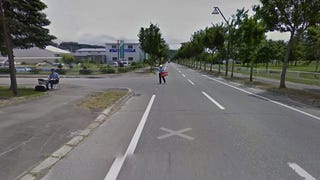 Google's Street View Car Stopped by the Japanese Police