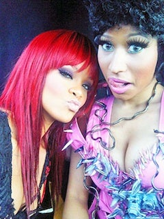 Nicki Minaj Debunks Lesbian Rumor She Started About Herself