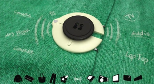 Button Remote: A Neat Controller On Your Shirt