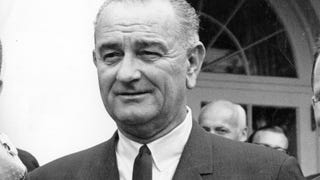 LBJ Was Obsessed With His Dick