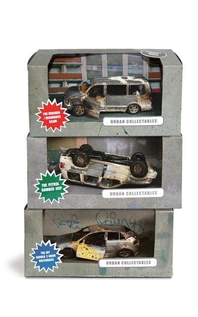 Hand-burned Toy Cars Spell Disaster For Human Race