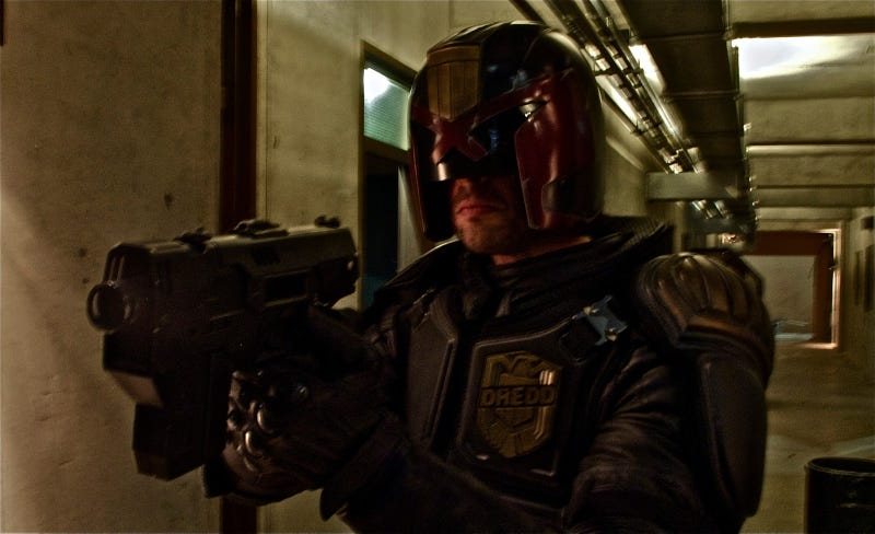 First look at Karl Urban as the new Judge Dredd