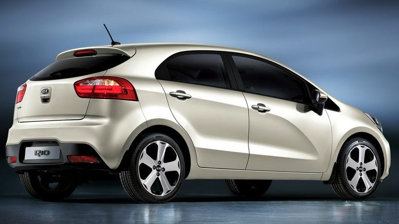 2012 New Kia Rio no longer poster car for personal defeat