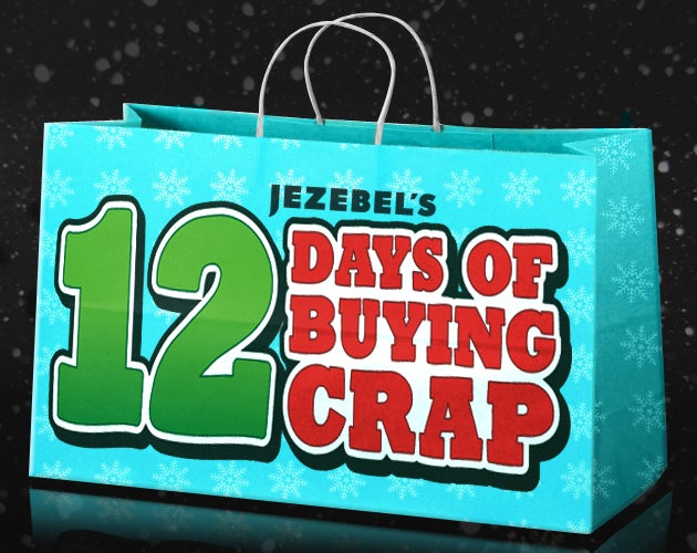 The Twelve Days Of Buying Crap
