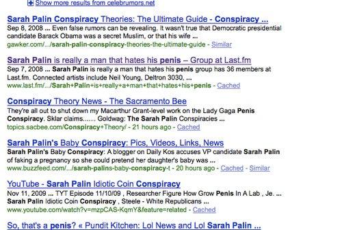 Sarah Palin Now Pulling Both Rock Star Money, Lady Gaga Comparisons