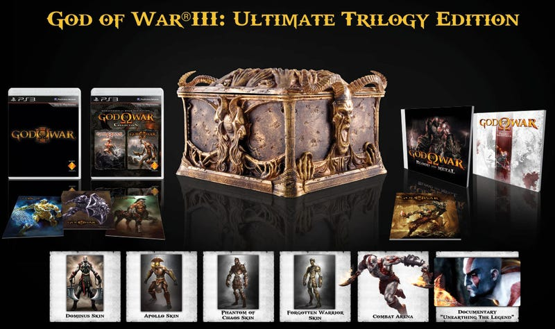 God Of War Collection Getting A European Release