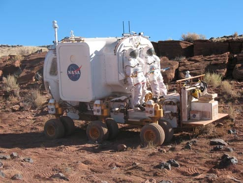 NASA Reveals New Rover For Manned Extraterrestrial Missions