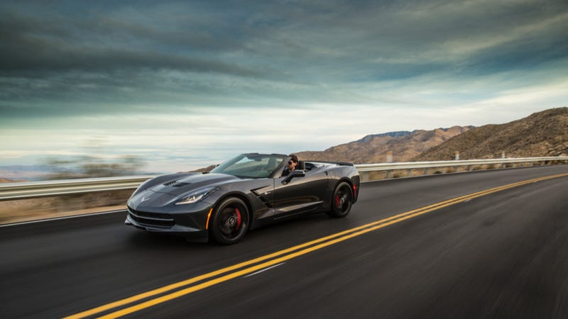 2014 Chevy Corvette Stingray Convertible: Not For Fat Old Men Anymore