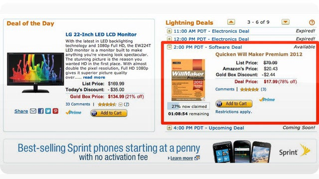 This Is Objectively the Saddest Amazon Lightning Deal of All Time