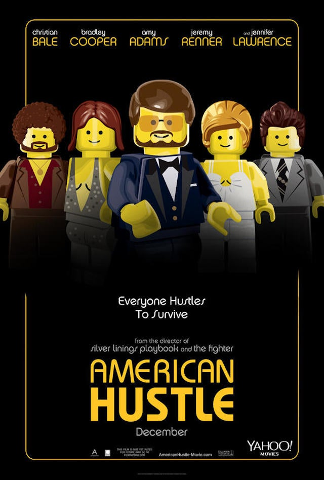 Lego movie posters for Best Picture nominees are actually kind of great