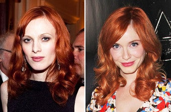 Watch Christina Hendricks Eat a Diamond