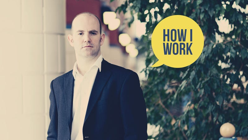 I'm Eben Upton, Executive Director of the Raspberry Pi Foundation, and This Is How I Work
