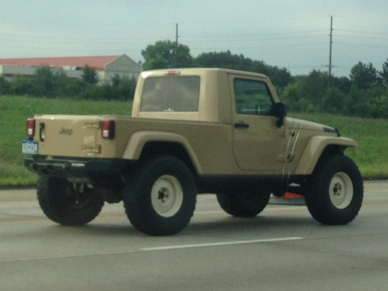 Is This A Real Prototype Jeep Pickup, Or Just A Home-Made One-Off?