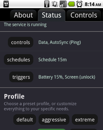 JuiceDefender Simplifies Automated Android Battery Saving