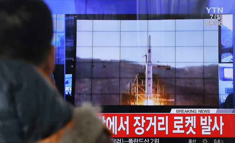 North Korea Launches Another Big Clumsy Rocket That Scares The Shit Out Of Its Neighbors